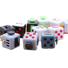 Mini Neposeda Kub Fidget Cube Original Case Box Kubus Spinner Zappeln Cube Anti Stress Fidget Spin Cube Toys Magic Puzzles Cubos