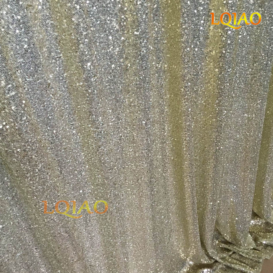 Light Gold Sequin Backdrop-003