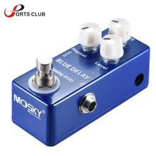 Mini Analog Delay Guitar Effect Pedal True Bypass High Quality Zinc-aluminium Alloy Body Guitar Parts & Accessories(China)
