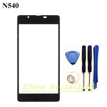 Original High quality Replacement LCD Front Touch Screen Glass Outer Lens For Microsoft Nokia Lumia 540 N540