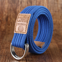 Stretch Woven Unisex Men Women Canvas Belts Knitted Designer Of High Quality Male Elastic Strap Female Fashion Waist Bel
