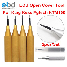 Newly 2pcs/Lot Car ECU Open Cover Tool Suitable For Ktag K TAG V7.020 KESS V2 V5.017 Fgtech V54 KTM100 Auto ECU PC Uncover Tool(China)