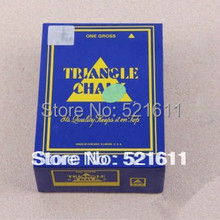 Free shipping 12pcs/lot Triangle billiard snooker chalks colorful chalks Blue/Green/Yellow/Orange/Red/Gray/Black/White Colors