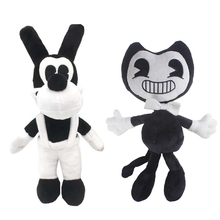 30cm Bendy and the Ink Machine Toys Mouse Batim Plush Dolls For Baby Kids Christmas Gifts(China)