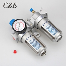 "SFC200 / SFC300 / SFC400 Pneumatic Air Treatment Air Filter Air Compressor Oil Water Separator 1/4"" or 3/8"" or 1/2"""