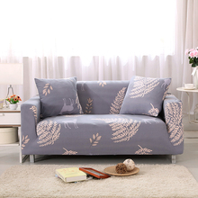 Sofa Covers Elastic Spandex Deer Printed Sofa Covers Gray Polyester Protector Pattern Sofa Covers V20(China)