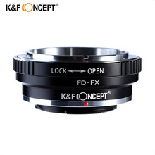 K&F Concept FD-FX Lens Adapter Ring for Canon FD Mount Lens to Fujifilm FX Mount X-Pro1 X-E1 X-A1 X-M1 Cameras Body