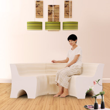Creative design of modern living room sofa backrest practical furniture environment-friendly furniture Creative sofa(China)