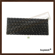 "Original Black White Canadian Keyboard Replacement for Apple Macbook 13.3"" A1181 Canada Language Keyboard without Backlight"
