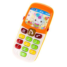 Random Colors Infant Cellphone Toys Children Kids Electronic Mobile Phone with Sound Smart Phone Toy Early Education Toy(China)