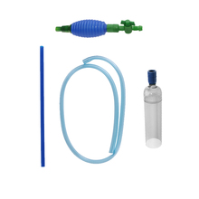1PC Plastic Cleaning Filter Gravel Vacuum Tool Siphon Pump Water Aquarium Fish Tank Cleaner Aquario Accessory