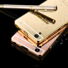Buy Lenovo S850 Case Luxury Fashion Mirror Aluminum Plating Metal frame back cover Phone Case for $2.73 in AliExpress store