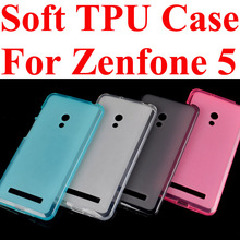 For Asus zenfone 5 A501CG/A500CG crystal cell phone case protective case shell,for asus zenfone5 TPU soft back cover