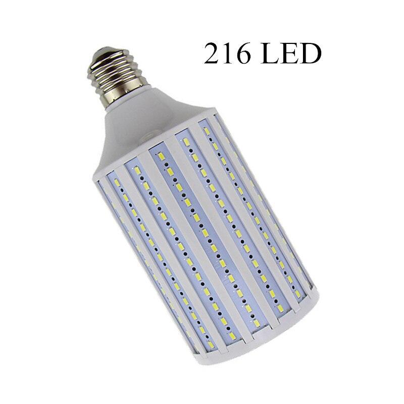 Lampada 38W LED Lamp 5630 SMD E27 E40 B22 216 LEDs Corn Bulb Lighting AC 85-265V Chandelier Ceiling Light Cold white Warm white<br>