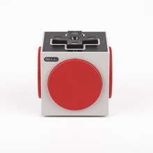 2017 NEW 8Bitdo Retro Classic Cubic Design Bluetooth Speaker Wireless Portable Outdoor Mini Sound Box with Microphone Nice Gift