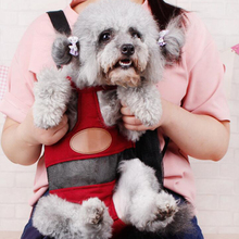 fashio Dog carrier red color Travel dog backpack breathable pet bags shoulder pet puppy Portable carrier(China)