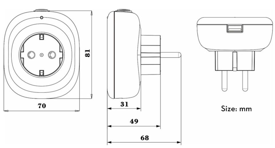 wifi socket6-960