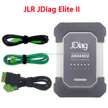 Wireless JDiag Elite II For Jaguar & Land Rover OBD2 OBD J2534 ECU Diagnostic Programming Tool Replace JLR VCI VCM II SDD VCM2(China)