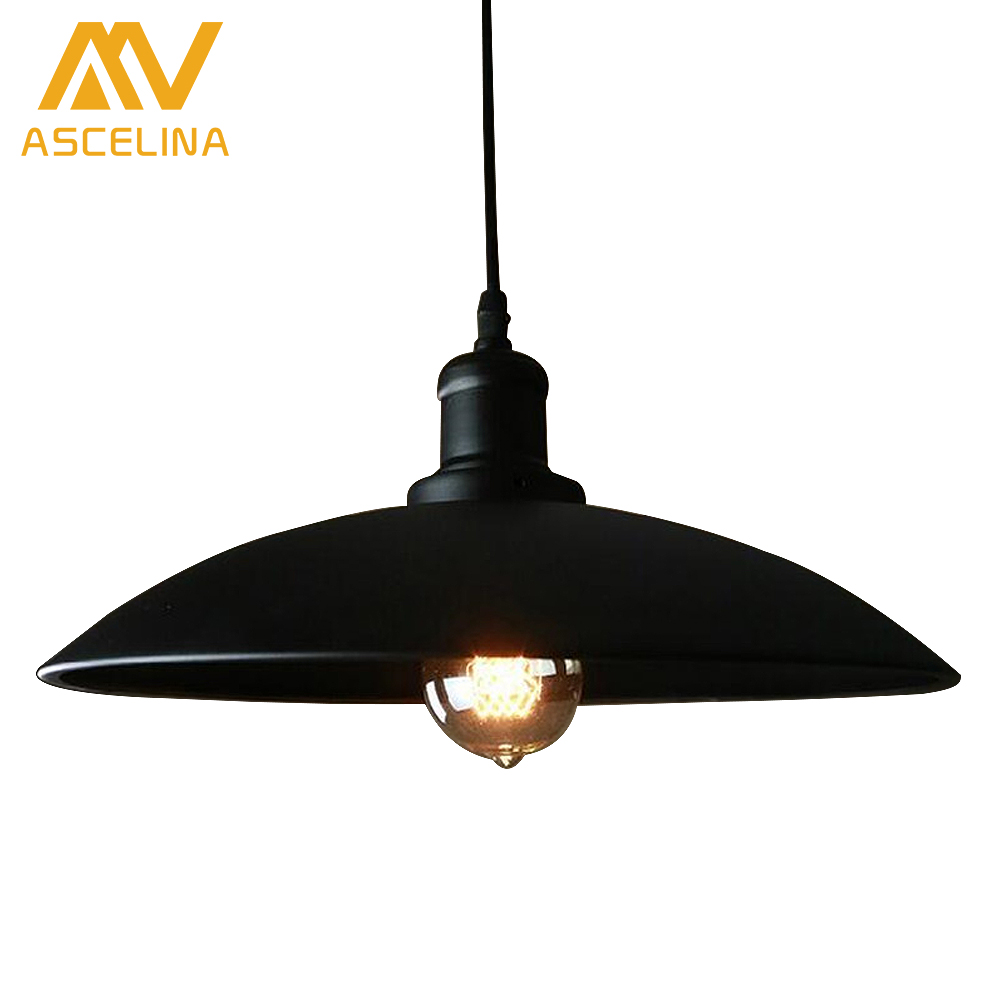Modern Minimalist Nordic Pendant Light Creative Dinning Room Bar American Country White Metal Vintage Pot Cover Lamp<br>