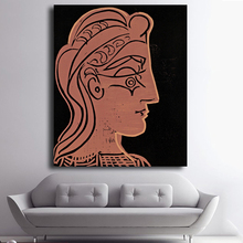 Canvas Art Pablo Picasso Oil Paintings Modern Abstract Figure Oil Painting Wall Pictures for Living Room No Frame