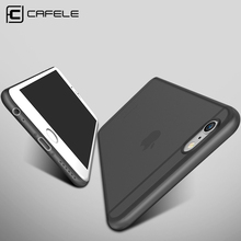Original CAFELE Phone cases for iphone 6s case Micro Scrub Candy colors PP cover for Apple iphone 6 plus Fashion Flexible shell(China)