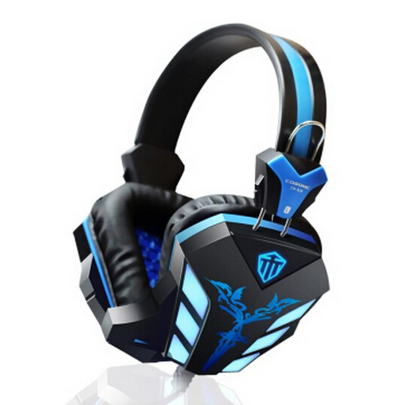 Cosonic CD-618 Noise Isolation USB Stereo Gaming Headset with 2.4m Cord Microphone Volume Control<br><br>Aliexpress