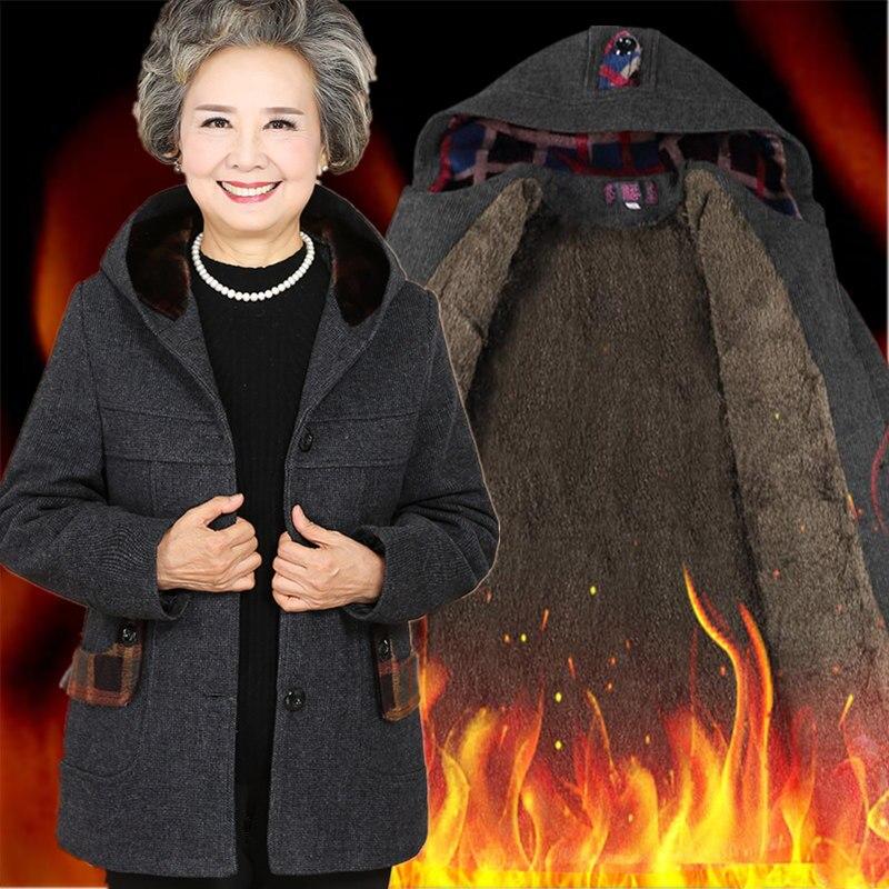 Middle age women fall and winter new cotton 40-50 year old mother and coat coat winter coat LOWLUVÎäåæäà è àêñåññóàðû<br><br>