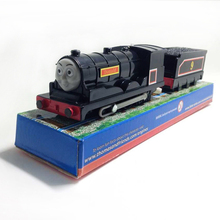 x087 Electric Thomas and friend Donald with one carriage Trackmaster engine Motorized train Chinldren kids toys with package
