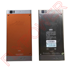 100% Warranty Battery Door Rear Back Cover With Buttons +Back Camera Lens in Silver and Orange By Free Shipping(China)