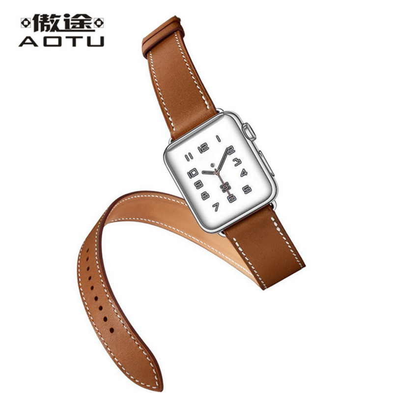 Genuine Leather Watch Band For Hermes 24MM Men Sport Watch Straps Ladies Watchband Women Leather Bracelet Cinturino Orologio<br>
