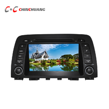 2G RAM Octa Core Android 6.0 Car DVD Player for Mazda 6 Atenza 2013- with GPS Navi Radio WiFi, Support OBD SWC DAB+(China)