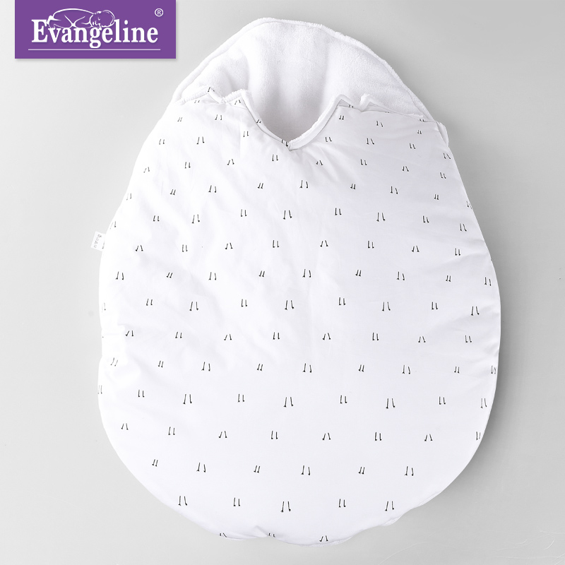Newborn Baby Sleeping Bag With Thickening And Cashmere Baby 0-1-3 Month Baby Sleeping Bag Baby Wrapped In E<br>