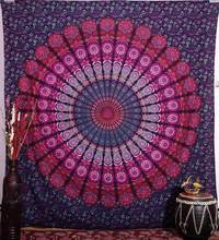 Cilected 7Types India Mandala Tapestry Wall Hanging Home Decor Gobelin Boho Hippie Tapestry Fabric Curtains Gaint Beach Towels(China)
