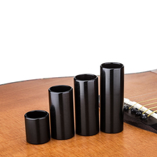 Black Stainless Steel Metal Guitar Slide Slider Finger Knuck String Slides Tone 70/60/51/28mm