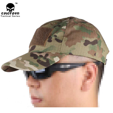 EMERSONGEAR Hiking male hat Summer camping man's Camouflage Tactical hat army Fishing bionic Baseball cadet Military cap