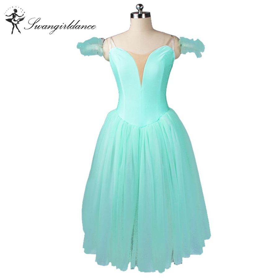 Adult green fairy ballet tutu dress girls professional romantic ballet tutu dress red performance ballet costumesBT9128B