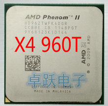 Free shipping AMD cpu phenom II X4 960T scattered pieces L3 6MB 3.0G AM3 Processor(China)