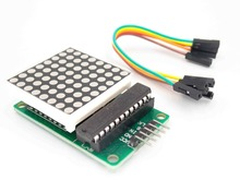 MAX7219 Dot Led Matrix Module MCU LED Display Control Module Kit