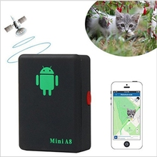 Mini A8 No GPS Tracker Locator Real Time Car Kids Pet GSM/GPRS/LBS Tracking Power Adapter High Quality(China)