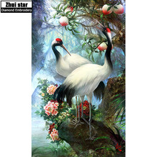 5D DIY diamond embroidery Lovers Birds Pictures full drill diamond painting Cross Stitch Rhinestone mosaic home decoration ZS