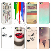 Latest Fashion PC White Phone Shell Cover for the Dreamcatcher Phone Case For Apple iphone 5c case