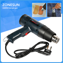 ZONESUN 20 year's Manufacturing Experience Heat Shrink Gun Electrical Tools US Customized Temperature Adjustable