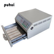 PUHUI T-962A DGC INFRARED Reflow Oven Solder Infrared IC Heater Reflow Oven BGA SMD SMT Rework Sation