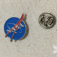 Tactical Brooches Lapel Pins NASA Planet Pin Badge with Butterfly Clutch for Space Center Uniform Clothing Polo Jacket Shirt