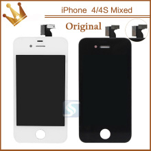 100% OEM Quality pantalla ecran for lcd iphone 4S 4 screen with display digitizer assembly replacement 100pcs(China)