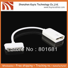 FreeShipping +tracking number +USB Host OTG Cable Connection Adapter For Samsung 10.1 P7510 P7500 N8000 P3110(China)
