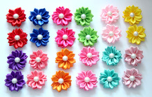 40pcs/20pairs Pet dog Hair accessories Petal Pearls Dog Pet Gromming Bows Cat Dog Holiday Grooming products Pet Shop(China)