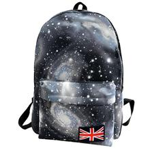 Starry Sky Galaxy Backpack Travel Pattern Woman Man Travel Canvas Leisure Softback Bags Mochilas Femininas