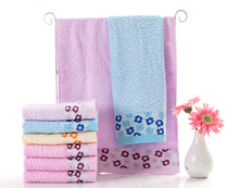 New 2017 1pc 34*75cm(13''*30'') 100% Bamboo Face Hand Towel adult Hand towel toalhas Super breathable Brand towel(China)