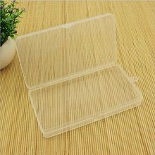 Mini Durable Plastic Clear Transparent Collection Storage Container Case Box New Transparent storage box